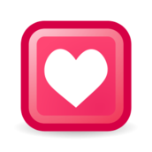 rectangle,heart,love,pink