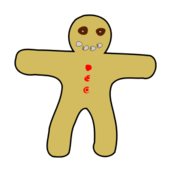 gingerbread,man,gingerbread man,food,sweet,sweet