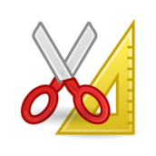 externalsource,tango,icon,scissors,ruler