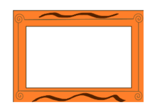 unchecked,border,ornament,orange,brown,board,table,message,paper,writing,decoration,deco,decor,pen,pencil,written,colour