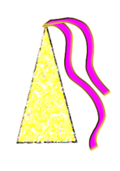 unchecked,colored,party,hat,celebration,fun,happy,smile,joke,yellow,textured,people,human,youngster,teens,twens,head,headgear,clambake,rave,dancing,laughing,happiness,media,clip art,public domain,image,svg,png,human,photorealistic,human