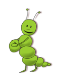 media,clip art,public domain,image,png,svg,caterpillar,green,comic