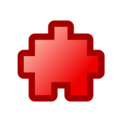 icon,puzzle,red