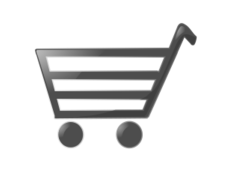 shopping cart,cart,shoping,commerce,shiney,cartoon,icon,food,media,clip art,public domain,image,svg,inkscape,shopping