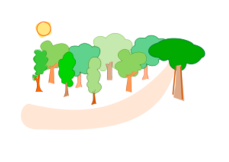 forest,tree,arbre,bosc,plant,media,clip art,public domain,image,svg