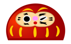 dharma,lucky,charm,japan,tradition,god,red,cute,character,media,clip art,public domain,image,png,svg,design