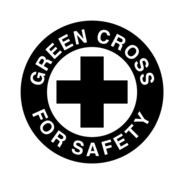 Green,Cross,For,Safety