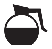 kitchen,icon,coffee,carafe,drip,diner,silhouette