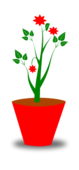 flower,pot,decoration,plant,leaf,svg,png