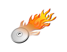 cd,dvd,burn,burning,hot,clipart_issue