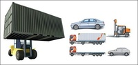 transit,minibu,minibus,car,container,truck,lifting,large,forklift