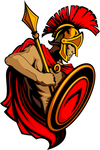 greek,mascot,shield,soldier,spartan,trojan,spear,trojan warrior