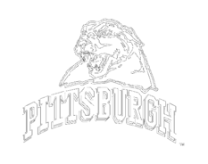 Free download of pittsburgh steelers vector logos page 2 for Pittsburgh penguins logo coloring page