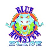 Blue,Monster,Slide