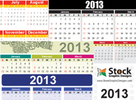 calendar,celebration,2013 calendar template,2013 calendar vector