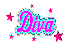 diva-girl-pink-stars-fun-kids-baby