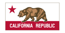 california,bear,banner