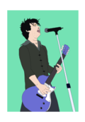 media,clip art,public domain,image,png,svg,cartoon,people,man,zombie,music,singing,singer,pop,rock,guitar,electric guitar,microphone,activity