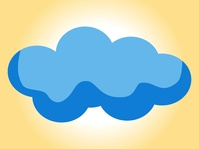 Free download of Internet Cloud Visio Stencil vector graphics and