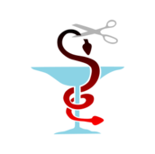 media,clip art,public domain,image,svg,caduceus,medicine,health,pharmacology,sign,scissors,snake,cut,head