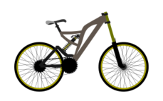 clip art,remix,media,public domain,image,png,svg,bike,bicycle,mountain bike,sport