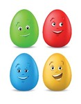 funny,coloured,easter,egg