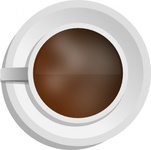 mokush,realistic,coffee,view,cup,cofe,coffe,cofee,coffeecup,top view,media,clip art,public domain,image,png,svg,photorealistic