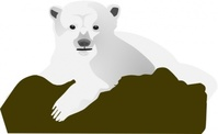 polar,bear,media,clip art,public domain,image,svg,animal,mammal,nature